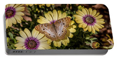 Butterfly On Blossoms Portable Battery Charger