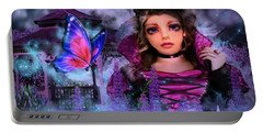 Butterfly Queen Portable Battery Charger