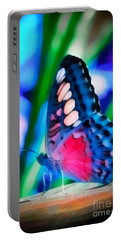 Butterfly Realistic Painting Portable Battery Charger
