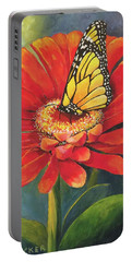 Butterfly Rest Portable Battery Charger