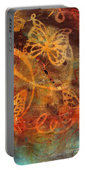 Butterfly Sun Dance Portable Battery Charger