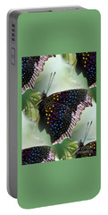 Butterfly Sunbath #2 Portable Battery Charger