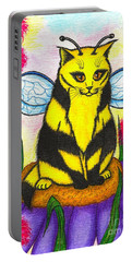 Buzz Bumble Bee Fairy Cat Portable Battery Charger
