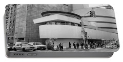 Bw Guggenheim Museum Nyc  Portable Battery Charger