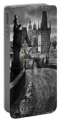 Bw Prague Charles Bridge 03 Portable Battery Charger