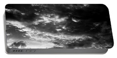 Portable Battery Charger featuring the photograph Bw Sky by Eric Christopher Jackson