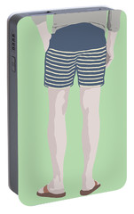 By The Bay Portable Battery Charger by Nicole Wilson