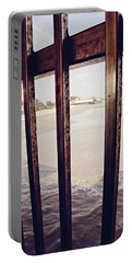 Portable Battery Charger featuring the photograph By The Sea by Trish Mistric