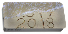 Bye Bye 2017 Welcome2018 Portable Battery Charger