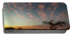 Portable Battery Charger featuring the photograph Bye Bye To Sunset by Arik Baltinester