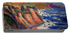 Ca Coastal Sketch Portable Battery Charger