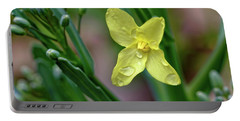 Cabbage Blossom Portable Battery Charger