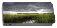 Cabbage Inlet Cold Front Portable Battery Charger by Phil Mancuso