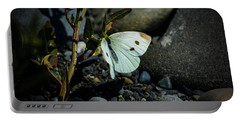 Portable Battery Charger featuring the photograph Cabbage White Butterfly by Tikvah's Hope