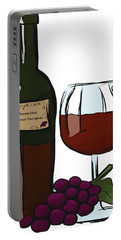 Cabernet Sauvignon Portable Battery Charger