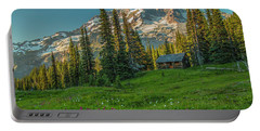Cabin On The Hill Portable Battery Charger