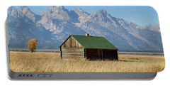 Cabin With A View Portable Battery Charger by Shirley Mitchell