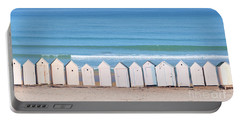 Cabins Portable Battery Charger by Delphimages Photo Creations