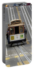 Cable Car Portable Battery Charger by Steven Spak