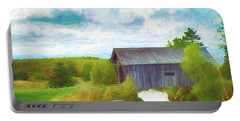 Cabot Vermont Covered Bridge Portable Battery Charger