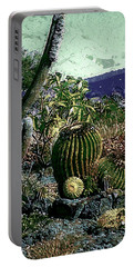 Portable Battery Charger featuring the photograph Cacti by Lori Seaman
