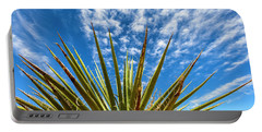 Cactus And Blue Sky Portable Battery Charger
