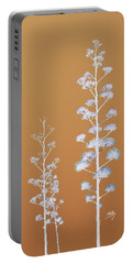Cactus Architectre Portable Battery Charger by Linda Hollis