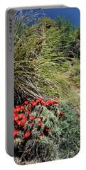 Crimson Barrel Cactus Portable Battery Charger