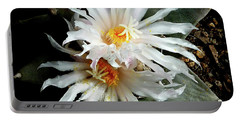 Cactus Flower 7 2 Portable Battery Charger