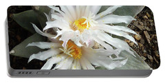 Cactus Flower 7 Portable Battery Charger