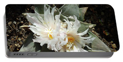 Cactus Flower 9 Portable Battery Charger