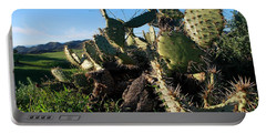 Cactus In The Mountains Portable Battery Charger