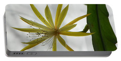 Cactus Orchid Portable Battery Charger