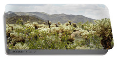 Cactus Paradise Portable Battery Charger