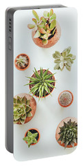 Cactus Pots Portable Battery Charger