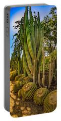 Cactus Promenade Portable Battery Charger