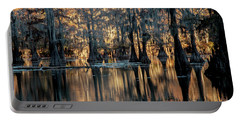 Caddo Lake Sunrise Portable Battery Charger