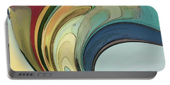 Portable Battery Charger featuring the digital art Cadenza by Gina Harrison