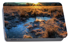 Portable Battery Charger featuring the photograph Cades Cove, Spring 2017,ii by Douglas Stucky
