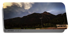 Portable Battery Charger featuring the photograph Cadet Soccer Stadium by Christin Brodie