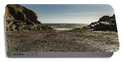 Portable Battery Charger featuring the photograph Cadgwith Cove Beach by Brian Roscorla