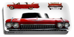 Cadillac 1959 Portable Battery Charger by Gina Dsgn