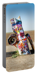 Cadillac Ranch, West Texas Portable Battery Charger