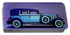Cadillac V16 1930 Painting Portable Battery Charger