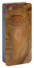 Caesar Portable Battery Charger by Cynthia Powell