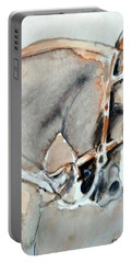 Portable Battery Charger featuring the painting Cafe Au Lait by Ed Heaton