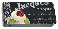 Cafe Jacques Portable Battery Charger