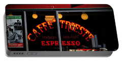 Caffe Trieste Espresso Window Portable Battery Charger