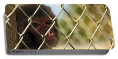 Caged Monkey Portable Battery Charger