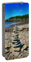 Cairn In Eastern Canada Portable Battery Charger